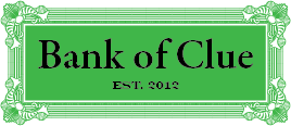 Bank Of Clue Logo